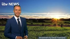 Luke Castiglione has the latest ITV Meridian weather