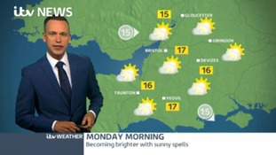 Mild tonight. Dry and sunny tomorrow but turning unsettled later in the week.
