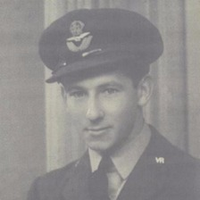 RAF pilot Kenneth James Pierpoint, who died in 1942. His sister Kathleen left a legacy to the RNLI which is funding Fleetwood's next lifeboat, named in honour of Kenneth.