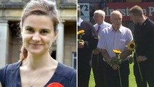 Jo Cox 'hero' makes first appearance since hospital release