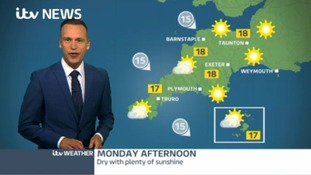 Lovely day tomorrow, then becoming unsettled again