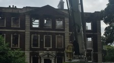 Investigation launched after stately home gutted in blaze