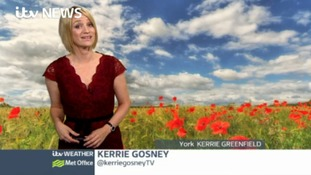 Sunday evening forecast with Kerrie