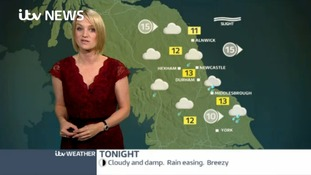 VIDEO: Sunday's forecast for the Tyne Tees region