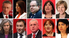 Labour in turmoil as 10 leave shadow cabinet