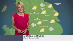 Morning weather update with Kerrie Gosney