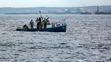 Crew rescued from sinking boat off Sunderland coast