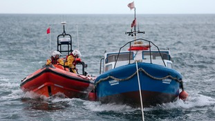 Fishing boat rescue in Sunderland