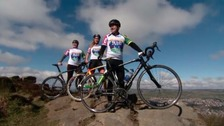 Team set to cycle from Britain to Brazil to continue Jane's legacy