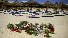 There will be a national minute's silence at midday to mark the first anniversary of the Tunisia beach attack.