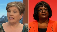 Emily Thornberry and Diane Abbott
