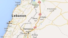 At least five people were killed in the blasts in eastern Lebanon.