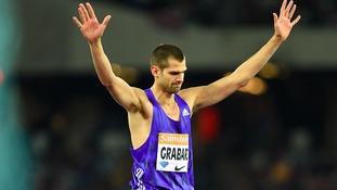 Robbie Grabarz is heading to Rio.