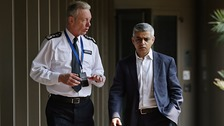 Hate crime 'zero-tolerance' London mayor and police say
