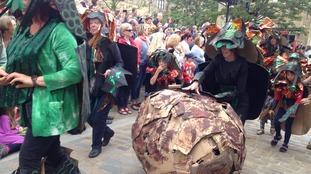 Giant dung balls