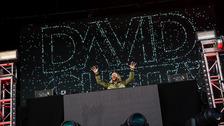 David Guetta headlines Sunday's Belsonic concert at Titanic, Belfast.