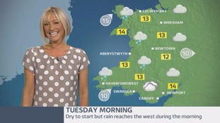 Wales Weather: Wet and windy!