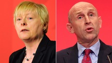 Angela Eagle and John Healey