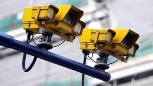 Speed cameras target thousands of drivers in London.