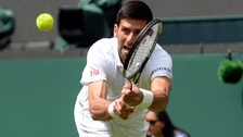 Wimbledon gets underway with Djokovic first on centre court