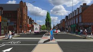 Consultation begins on Leicester's Golden Mile revamp