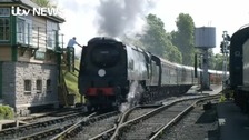 VIDEO REPORT: Full steam ahead for much-loved railway after 40 years