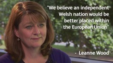 Plaid to push for Welsh independence from Brexit UK