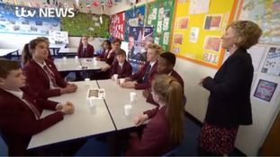 Schoolchildren voice their views on the referendum result