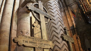 Somme memorial crosses to go on display in Durham