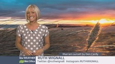Wales Weather: A chilly night for June!