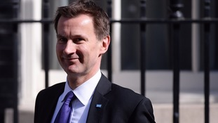 Jeremy Hunt calls for second referendum on terms of EU exit
