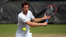 Wimbledon day two: Andy Murray takes on fellow Brit Liam Broady