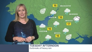 Weather: a fresh but sunny start but it won't last - heavy rain on its way for later