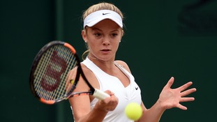 Wimbledon: teenage tennis star Katie Swan ready for debut at All England Club