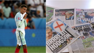 Papers pull no punches as Alli and England face up to humiliating Euro 2016 exit