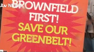 Concern over use of green belt