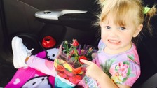 Girl dies after being run over by her dad in 'freak accident'