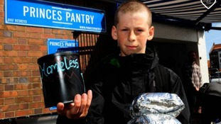 Teenager saves pocket money to buy bacon sandwiches for homeless on way to school