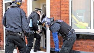 Police raid on address in Merseyside