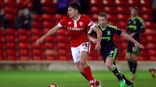Barnsley's Paul Digby has agreed a permanent move to Ipswich Town.
