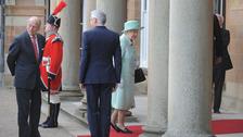 Queen visit.