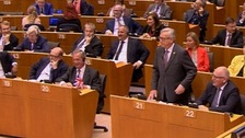 Jean-Claude Juncker blasts Farage: 'Why are you here?'