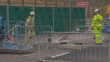 Sinkhole on the A1 is due to reopen on time, say Highways England.