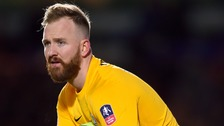 Ben Alnwick is staying at Posh.