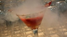 Liquid nitrogen cocktails have become fashionable in bars