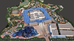 Computer generated model of the proposed Paramount entertainment complex