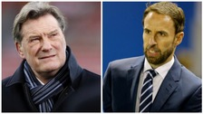 Glenn Hoddle and Gareth Southgate who are in the frame for the England job