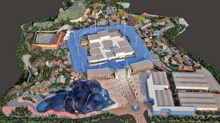Impression of new theme park