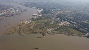 Site of proposed theme park