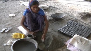 The plight of female construction workers in India is under scrutiny